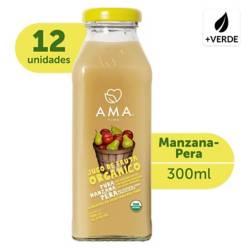 AMA - Jugo Manzana Pera Orgánico 12X300Cc