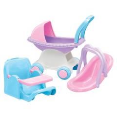 American Plastic - Set de Cuidado para Muñecas American Plastic