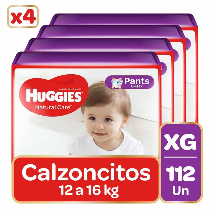 HUGGIES - Pants Huggies Natural Care Pack 112 Un. Talla Xg