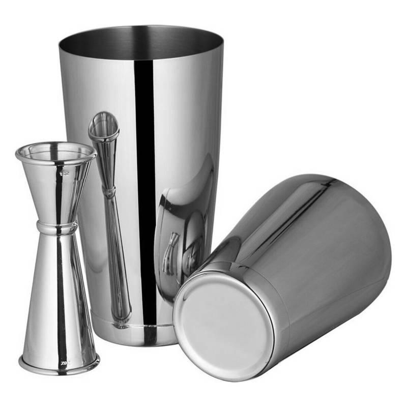 FULLBAR - Kit Boston Silver