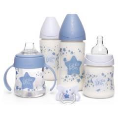 Suavinex - Mamaderas Pack Estrellas Azules
