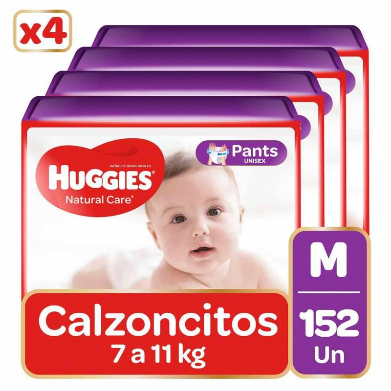 HUGGIES - Pants Huggies Natural Care  Pack 152 Un. Talla M