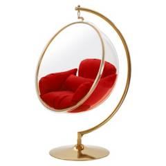EL BARCO - Silla Colgante Transparente Bubble Chair