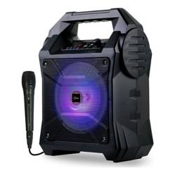 MLAB - Mlab Karaoke Suitcase Outdoor Mic Bt Bk 8566