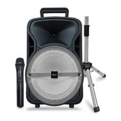 MLAB - Mlab Karaoke  City Set Mic In.  Atril Silver 8708