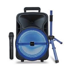 MLAB - Mlab Karaoke City Set Mic In. Atril Blue 8709