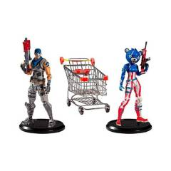 FORTNITE - Figura Fortnite Shopping Cart Pack With War Paint
