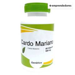 CHACRA URBANA - Cardo Mariano 60 Capsulas de 500 Mg