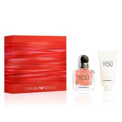 GIORGIO ARMANI - Set Perfume Mujer In Love With You EDP 30 ML + Loción de Manos