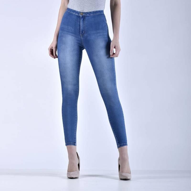 Collarbeauty Jeans Calce Perfecto Tiro Alto Push Up Falabella Com
