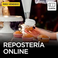 CURSOS DE COCINA - Curso de Reposteria y Decoración online