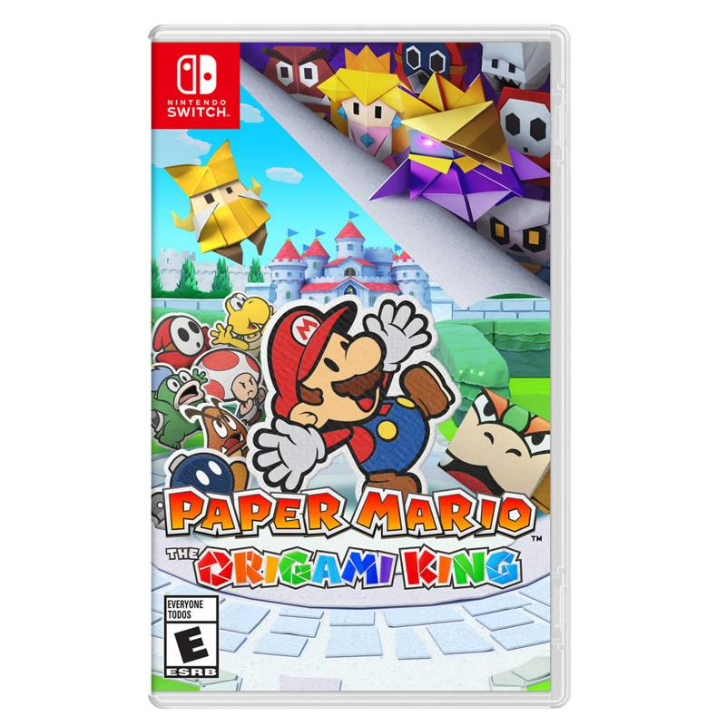 Nintendo - Paper Mario The Origami King + Set de Stickers