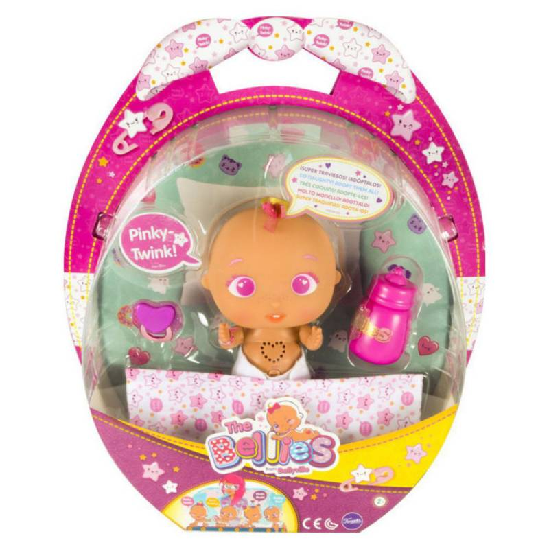 THE BELLIES - Pinky Twink Muñeca Con Mecanismo