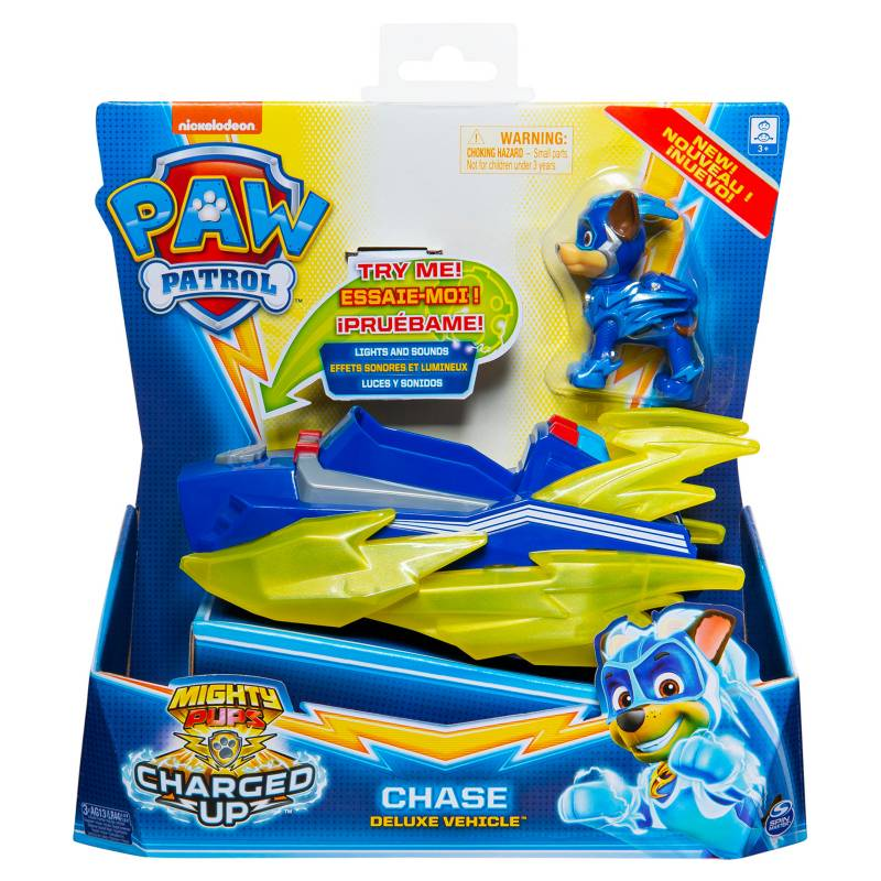 Paw Patrol Vehículo Super Paw Chase