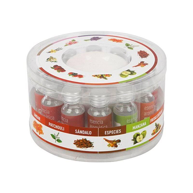 HOMEWELL CARE SERVICES - Difusor Aroma 12 Aceite Esencial Quemador Ceramica