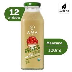 AMA - Jugo Manzana Orgánico 12 X 300Cc