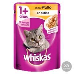WHISKAS - Whiskas Sachet Adulto Pollo 85 Gr.Pack48 Unid.