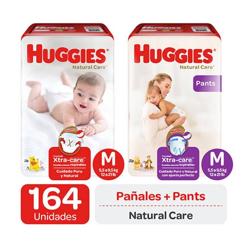 HUGGIES - Huggies Natural Care - Pañales  Pants Talla M