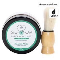 EMPORIONATURAL - Jabón De Afeitar Con Hisopo 100 Gr