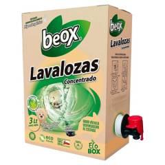 BEOX - Lavalozas Concentrado BEOX ECOBOX 3 Lts