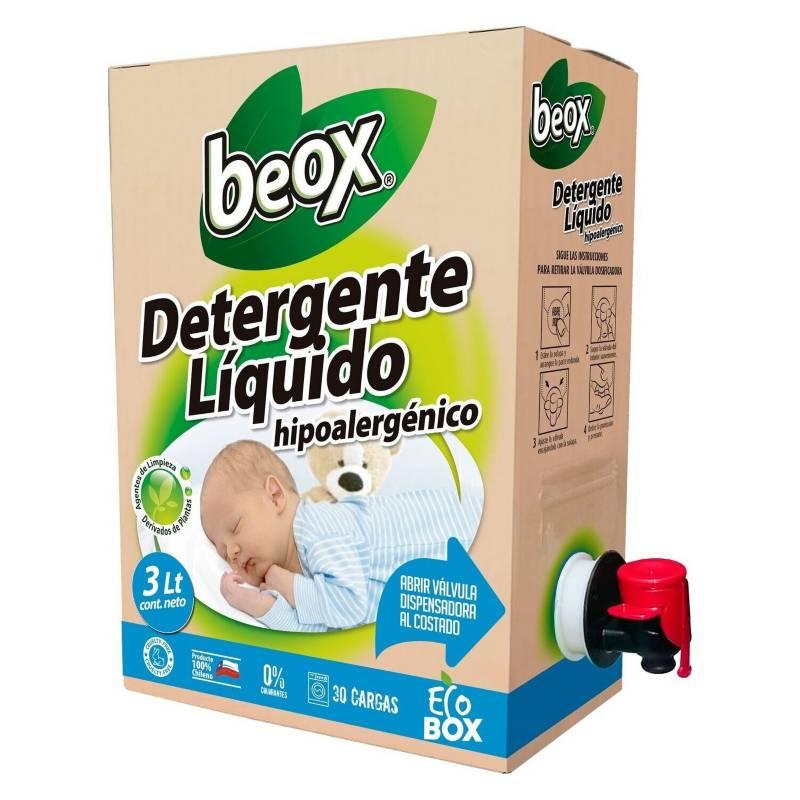 BEOX - Detergente Hipoalergenico BEOX ECOBOX 3lts