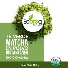ECOTEA MATCHA - Ecotea Matcha Te Verde Japones Culinario  Usda