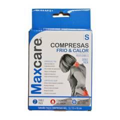 MAXCARE - Compresa Gel Frío/ Calor Pequeña Pack 2 Unidades