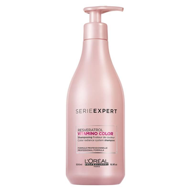 LOREAL PROFESSIONNEL - Shampoo Cabello Con Color Vitamino Color 500 ml Serie Expert