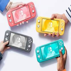 Nintendo - Nintendo Switch Lite Grey
