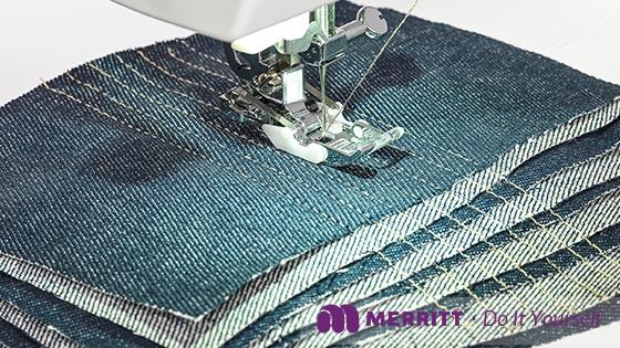 Máquina de coser, ME Jeans edition, Merritt