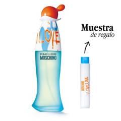 MOSCHINO - Compra y Prueba Moschino I Love Love Eau de Toilette 100 ml