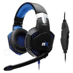 REPTILEX - Audifono Gamer Pro Pc Azul