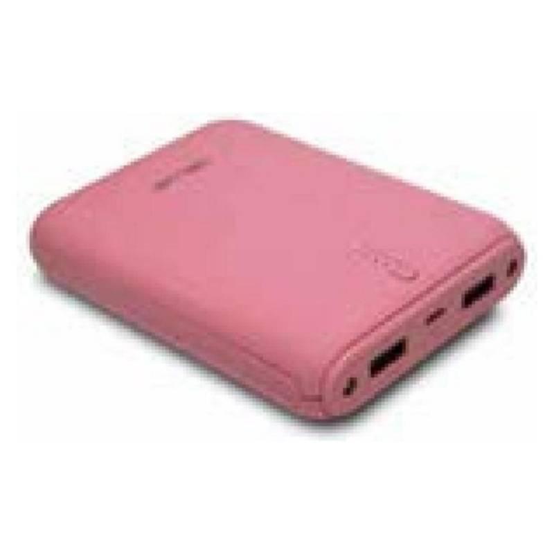 Bateria Power Bank 12000Mah Con 2 Usb / K