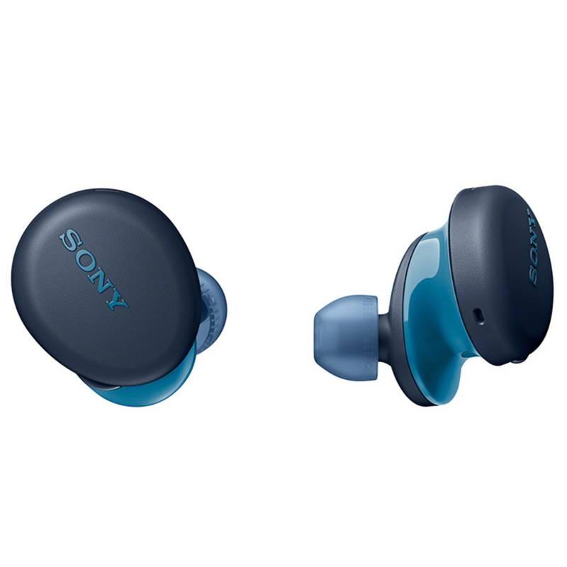 Sony - Audífonos earbuds bluetooth WF-XB700 Azul