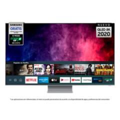 "Samsung - QLED 75"" Q800T 8K Smart TV 2020"