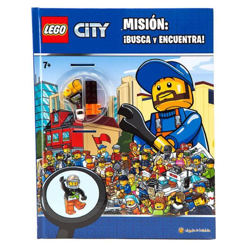 PENGUIN RANDOM HOUSE - Lego City Mision Busca Y Encuentra