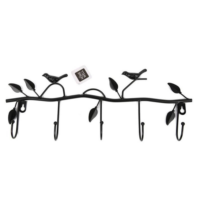 HOMEWELL CARE SERVICES - Percheros Pájaros Perchas 4 Ganchos Metal