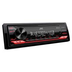 JVC - Radio frontal con Bluetooth para autos JVC Negra