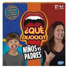 Hasbro - Qué Dijo? Niños V/S Padres - Juego  En Español