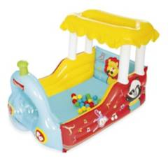 FISHER PRICE - Piscina De Pelotas Inflable Fisher Price Tren