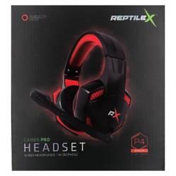 REPTILEX - Audifono Reptile X Gamer Pro Rx0001R Rojo Buychile
