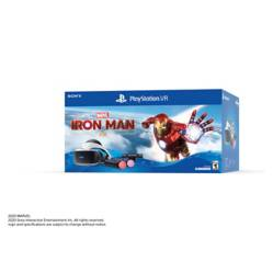 Sony - PlayStation VR Iron Man Bundle PS4 PSVR (Juego + VR Headset + 2 Controles Move Motion + PS Cámara)