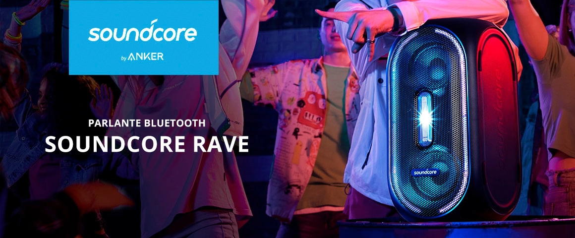 Parlante bluetooth Soundcore Rave