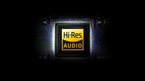 Tecnología exclusiva Hi-Res