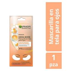 GARNIER SKIN NATURAL FACE - Máscara Hidra Tela Ojos Vitamina C
