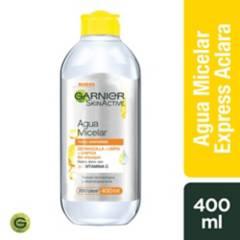 GARNIER SKIN NATURAL FACE - Agua Micelar Express Aclarante 400 Ml