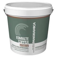 PINTURAS PANORAMICA LTDA - Esmalte Copper Antimicrobial Gris Ceniza 1GL