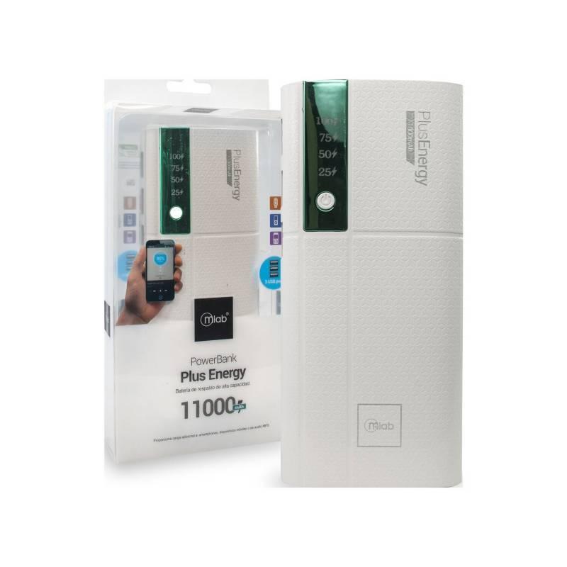 MLAB POWER BANK PLUS ENERGY 11000M GREEN 8194