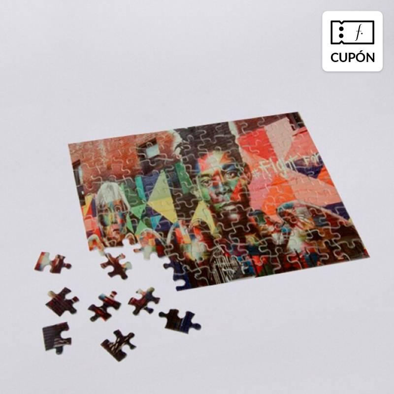 EMOTIONS - Puzzle personalizable de 110 piezas vertical u horizontal, incluye despacho
