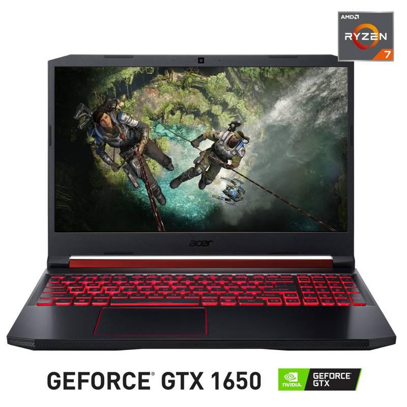 """Acer - Notebook Gamer Nitro 5 AMD Ryzen 7 12GB RAM 1TB HDD + 128GB SSD NVIDIA GeForce GTX1650 15.6"""""""
